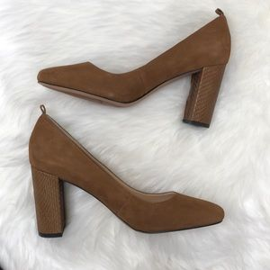 Franco Sarto Heels | Brown Pumps | Platform Heels